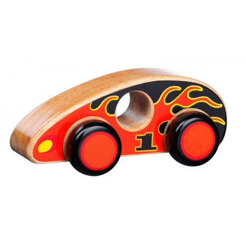 Lanka Kade Wooden Flame Car