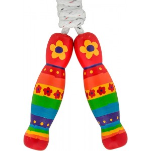 Lanka Kade Rainbow Flower Skipping Rope
