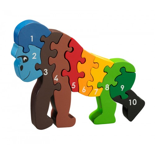 Lanka Kade Gorilla 1-10 Number Jigsaw