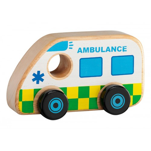 Lanka Kade Wooden Toy Ambulance