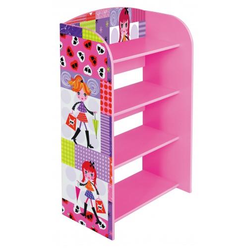Liberty House Toys Fashion Girl 4 Tier Bookcase