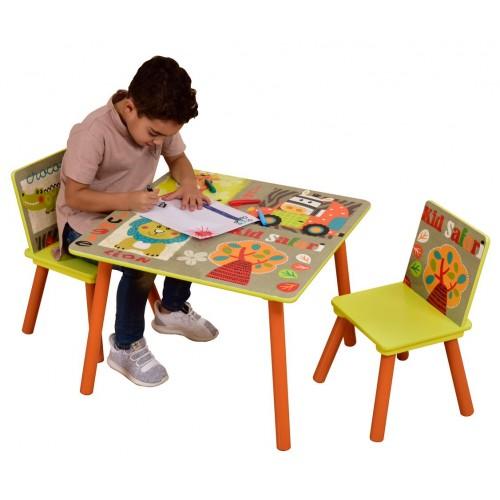 Safari Kids Play Table And Chairs Liberty House Toys