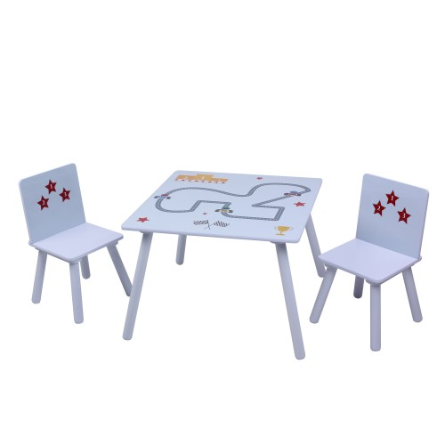 Liberty House Toys Star Cars Wooden Table and Chairs