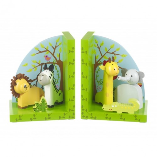 Orange Tree Toys Safari Bookends