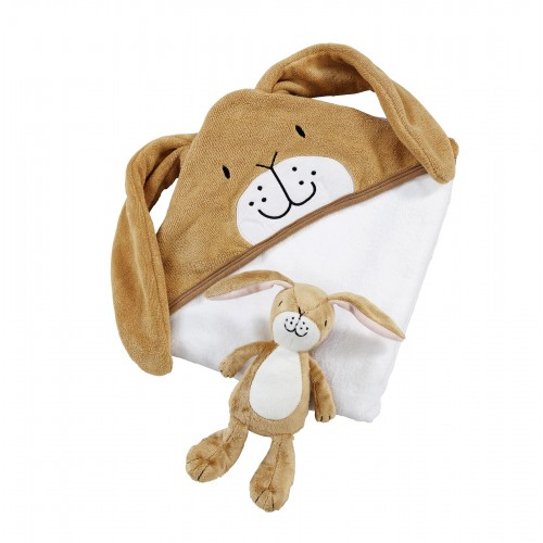Guess How Much I Love You Soft Toy with Cuddle Robe Gift Set