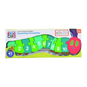 Very Hungry Caterpillar 1-10 Number Puzzle