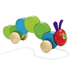 Very Hungry Caterpillar Wooden Pull Along