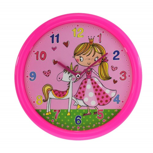 Rachel Ellen Girls Collection Wall Clock