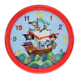 Rachel Ellen Pirate Collection Wall Clock