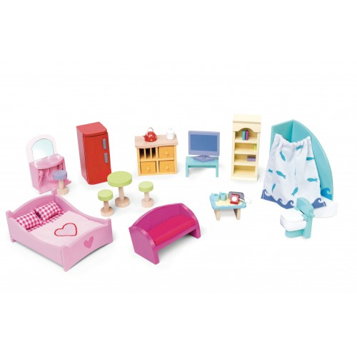 Le Toy Van Dollhouse Furniture Pack