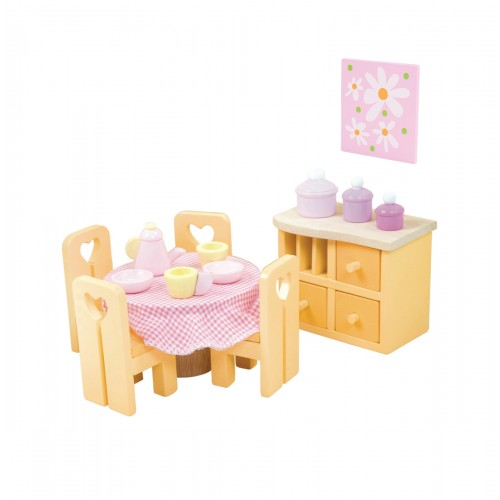 Le Toy Van Sugar Plum Dining Room Set