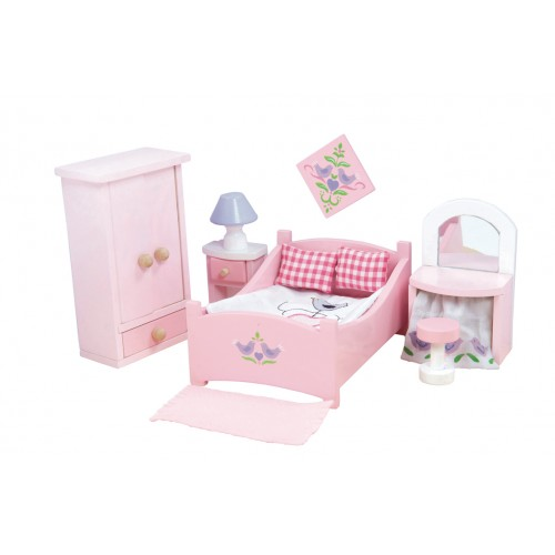 Le Toy Van Sugar Plum Bedroom Room Set