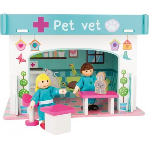 Small Foot Playhouse Animal Hospital