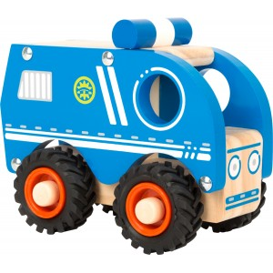 Small Foot Design Wooden Police Car