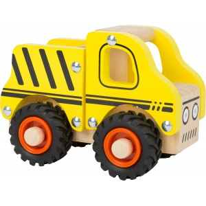 Small Foot Design Wooden Construction Vehicle