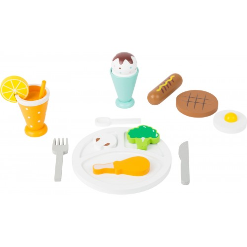 Small Foot Wooden Lunch Dinner Food Set