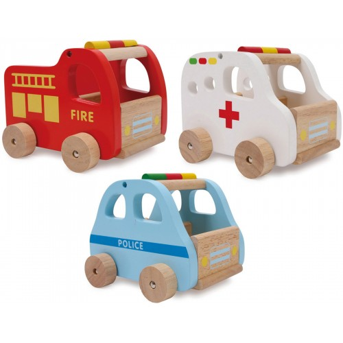 Small Foot Rescue Car Set