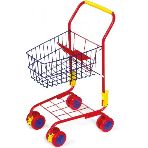 Small Foot Coloured Shopping Trolley