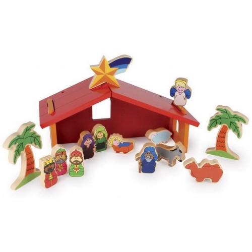 Small Foot Nativity Play Set