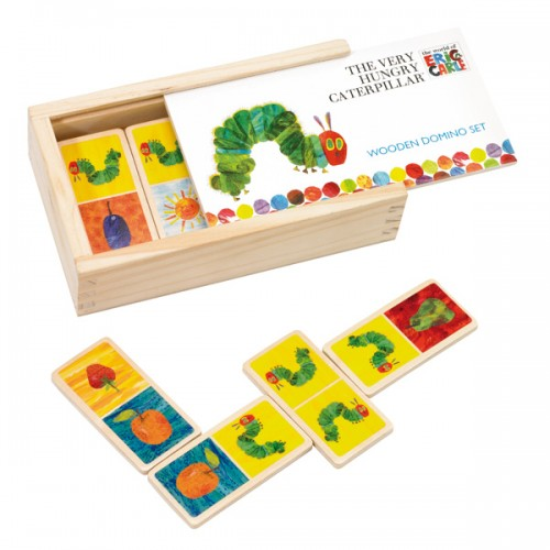 The Very Hungry Caterpillar Wooden Dominoes - Wooden Games/Puzzles
